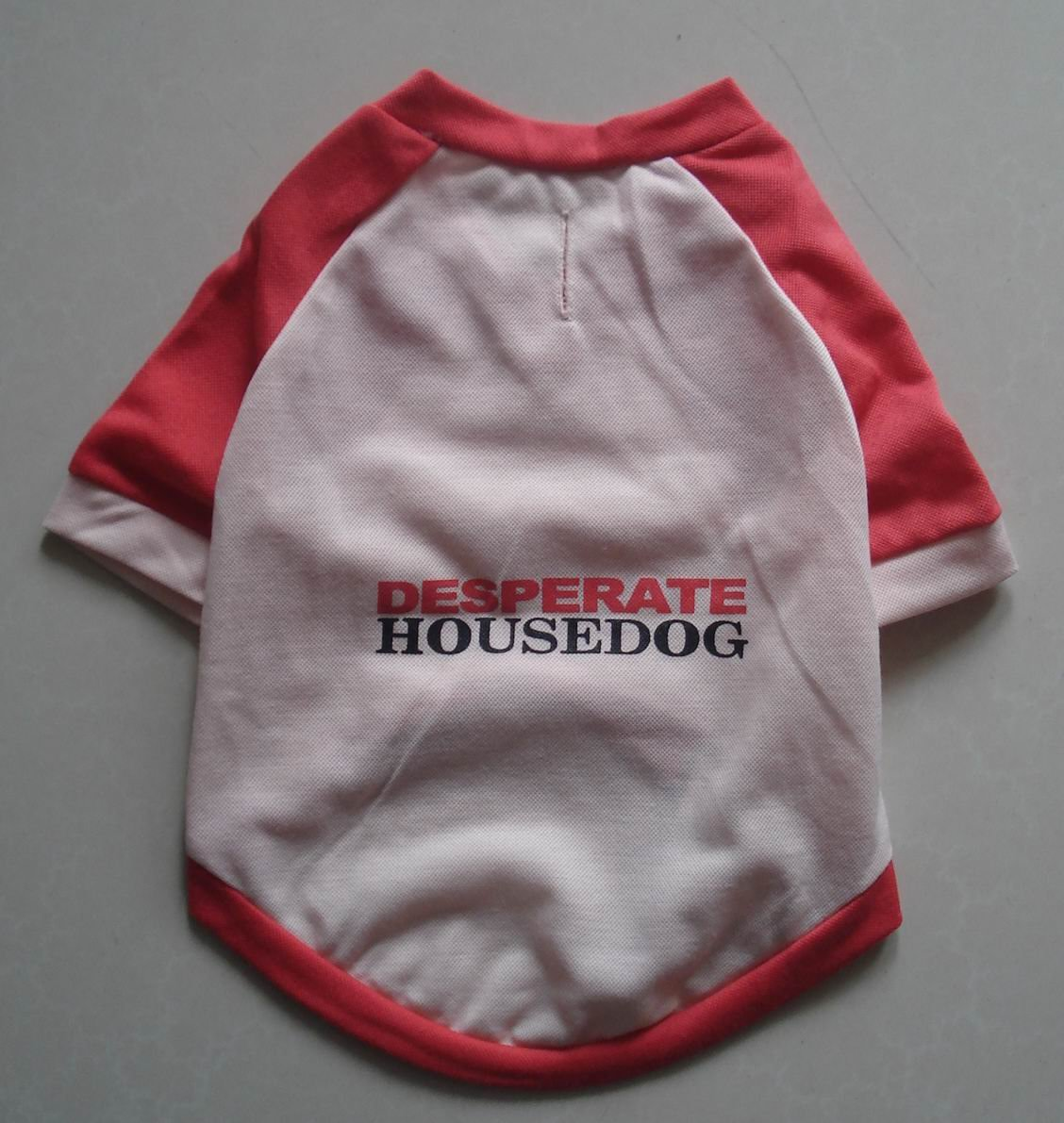 Stylish red T-Shirt - Desperate housedog